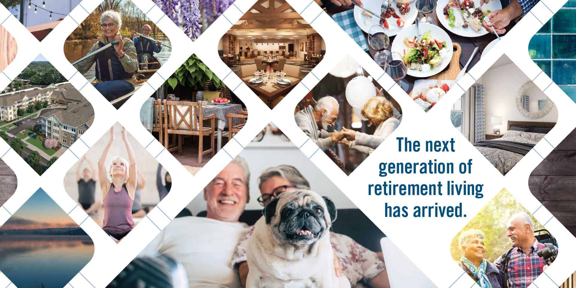 The next generation of retirement living has arrived.