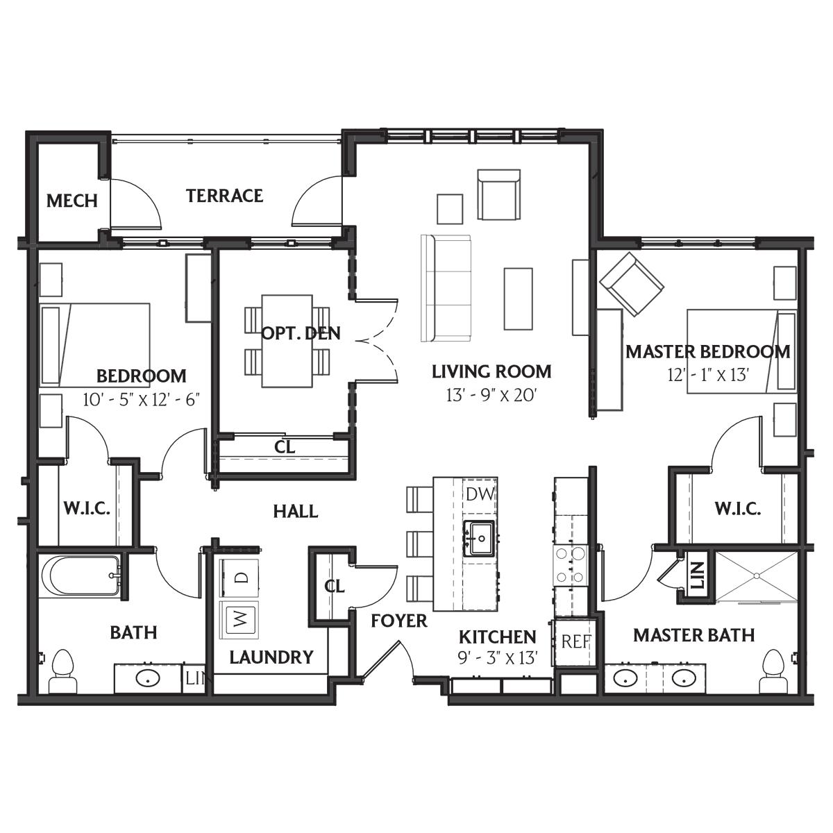 Dawson Floor Plan