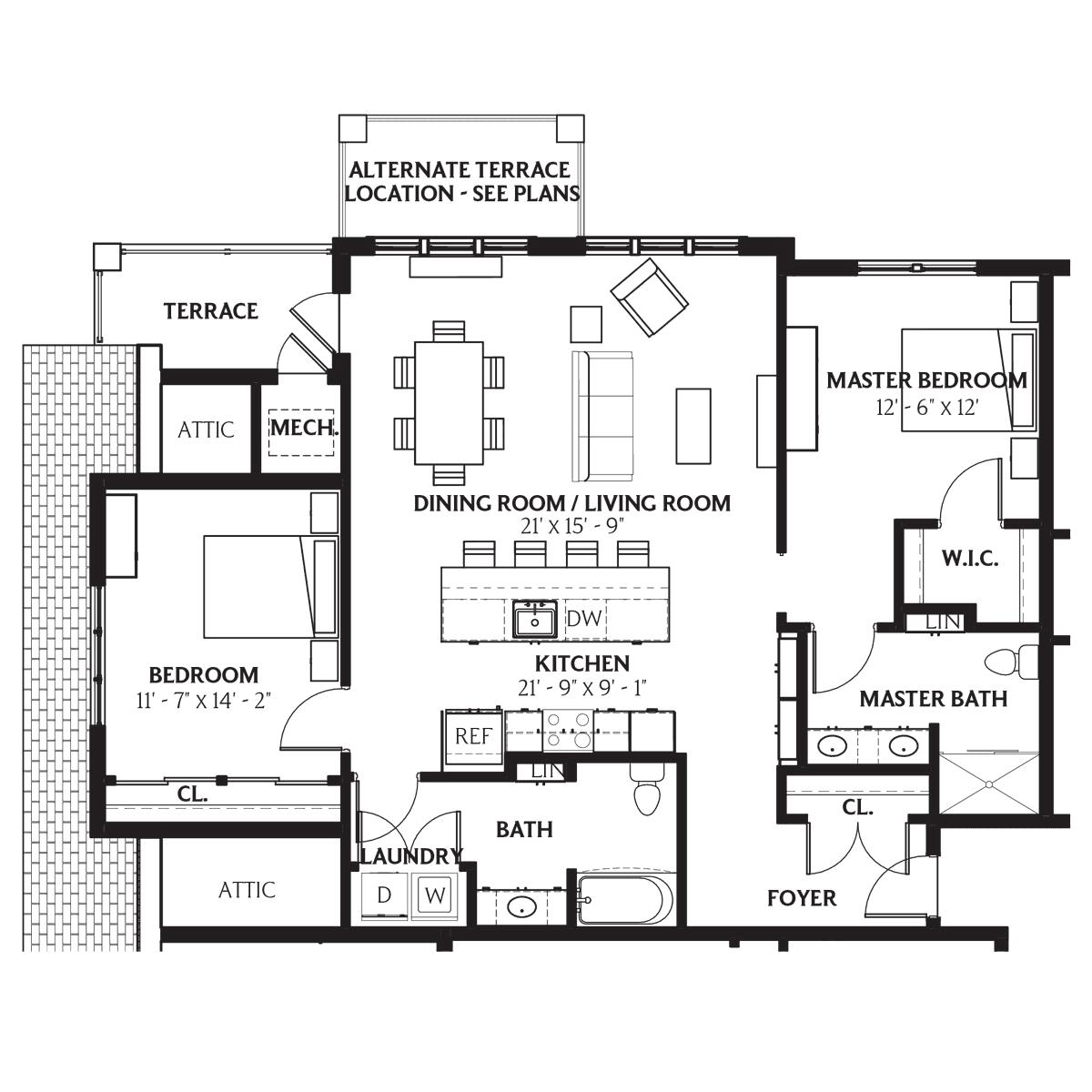 Gardner Floor Plan